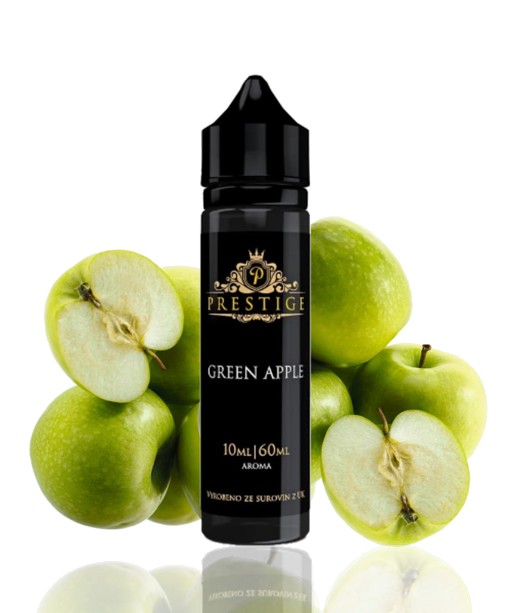 10 ml Prestige - Green Apple (Shake & Vape)